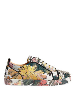 Men's calf leather loafer in black