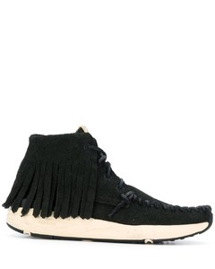 fringed moccasin sneakers