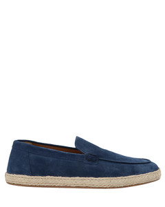 Princetown fur-lined velvet loafers