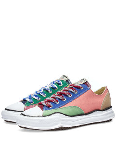 Lucca Burnished Leather Sneakers