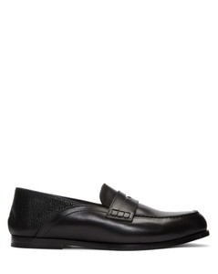 Black Convertible Penny Loafers