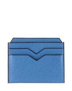 TEXTURED LEATHER CARDHOLDER