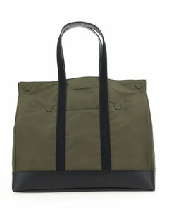 Men's bovine leather backpack in black