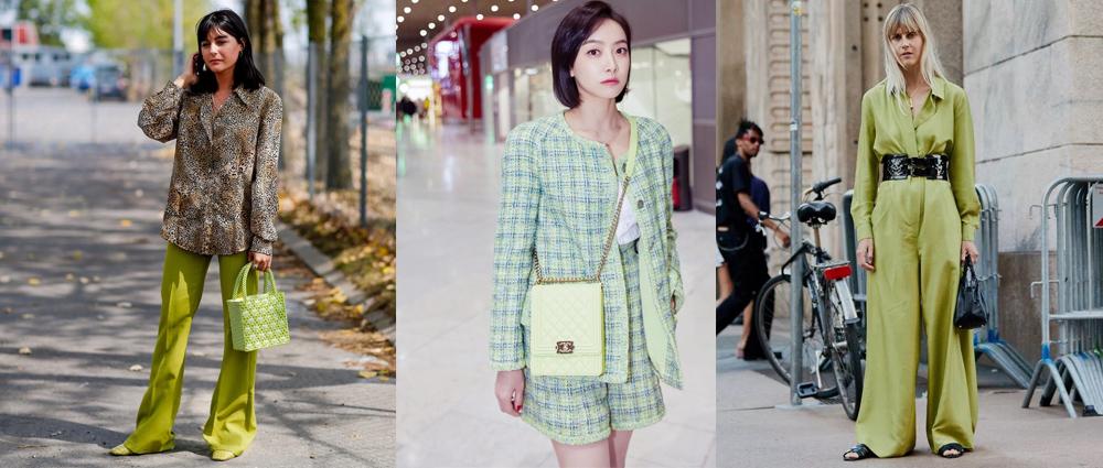 春色:绿色单品精选