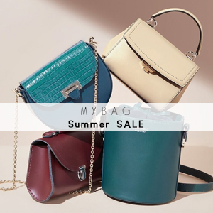 Mybag:Summer Sale高达50%OFF!