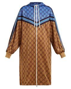 edd75e85b GG technical-jersey hooded dress