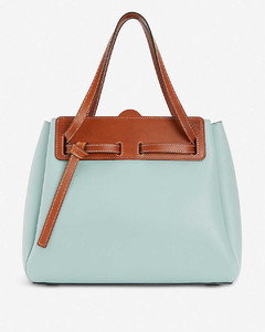 Ruk leather tote bag