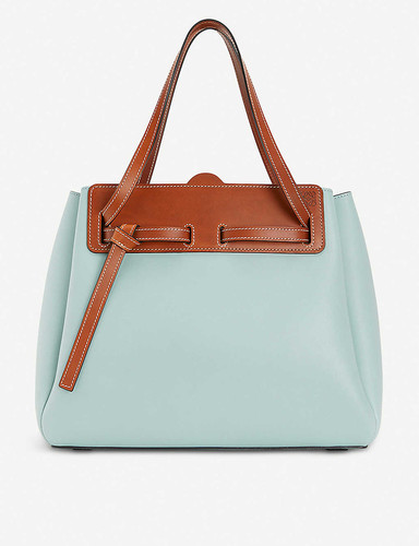 Ruk leather tote bag