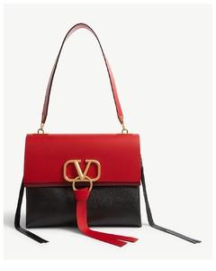 Vring leather shoulder bag bag