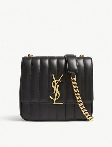 Vicky medium leather shoulder bag