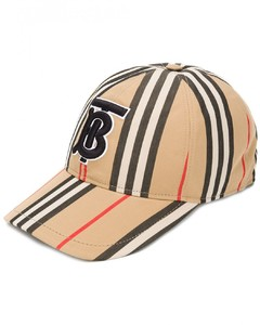 Checked Baseball Cap
